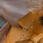 Indpakning af julegaverne